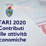 Erogazione di contributi a fondo perduto alle attività economiche di piccole e medie dimensioni tenute al pagamento della TARI dell'anno 2020