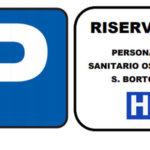Coronavirus: al parcheggio dell'ospedale posti auto riservati al personale sanitario