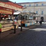 Coronavirus, il sindaco Rucco e il consigliere Naclerio in sopralluogo al mercato