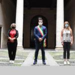 Giornata nazionale della legalità, minuto di silenzio e lenzuolo bianco a Palazzo Trissino