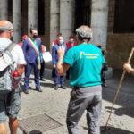 Camminata per la solidarietà, oggi pomeriggio tappa a Vicenza della passeggiata di 609 km