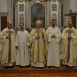 Aprile 2020 - Due nuovi sacerdoti e sei diaconi per la Chiesa di Vicenza