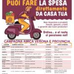 Dai produttori di Campagna Amica Verona arriva la spesa a domicilio. Scorte in dispensa per 4 italiani su 10