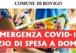 Emergenza Coronavirus - Servizio di spesa a domicilio per gli over 65